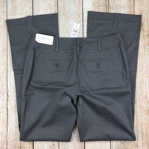 New LOFT Gray Original Trouser Cotton Pants